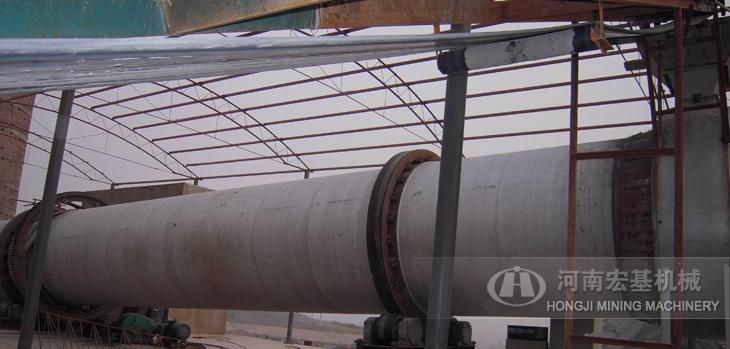 宏基机械为山东客户总承包建设的日产2000吨烘干生产线