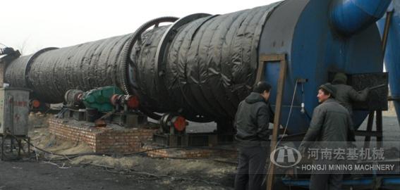 山西大同煤泥烘干机生产线工程案例