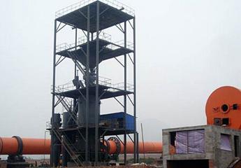 红土镍矿回转窑生产线