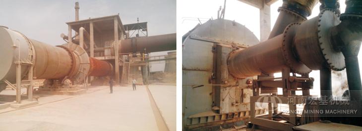 铝矾土回转窑生产案例