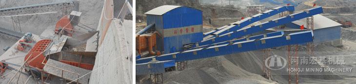湖南常德时产2000吨石料生产线