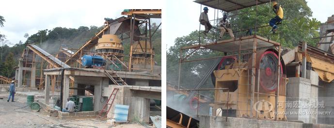 尼日利亚年产30万方碎石生产线