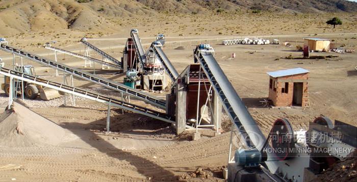 新疆伊犁日产1800方河卵石石子生产线