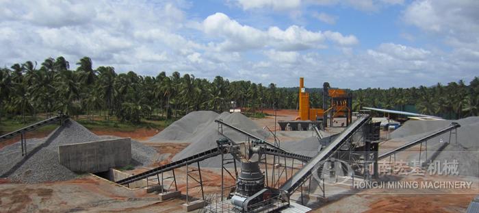 喀麦隆年产25万方玄武岩碎石生产年