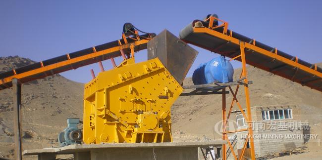水利水电砂石项目部1520反击式破碎机厂家