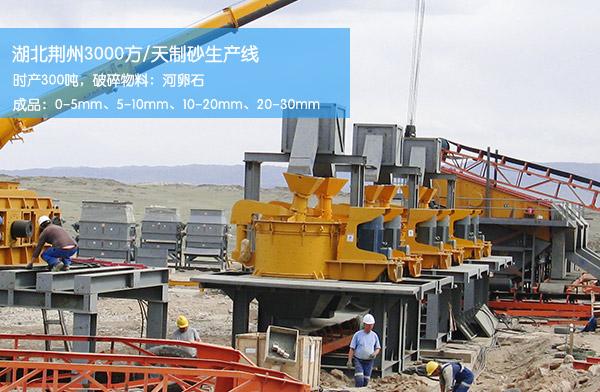 日产3000方制砂生产线设备
